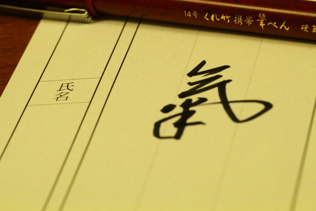 レビュー くれ竹 携帯筆ぺん(14号)